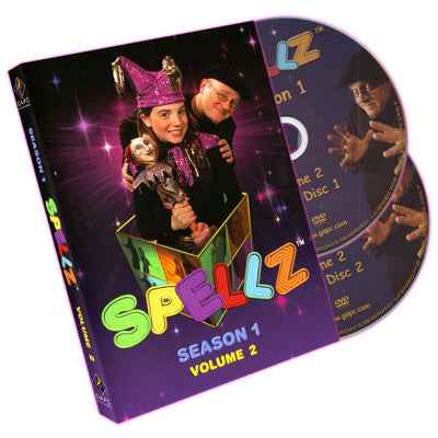 Spellz - Season One - Volume Two (Featuring Jay Sankey) by GAPC Entertainment - DVD