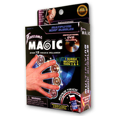 Multiplying Soap Bubbles by Magick Balay and Fantasma Magic - DVD