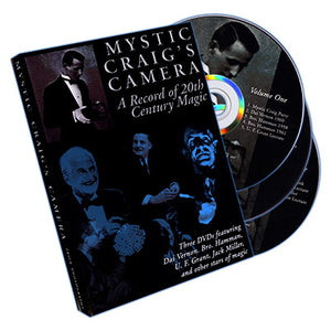 Mystic Craig's Camera (3-DVD set) - DVD