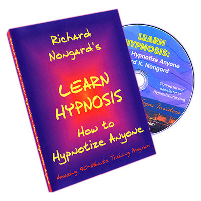 Learn Hypnosis by Richard Nongard - DVD