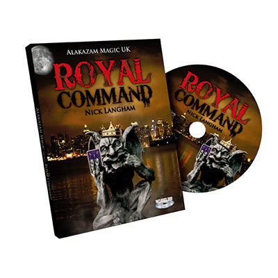Royal Command by Nick Langham and Alakazam Magic  - DVD