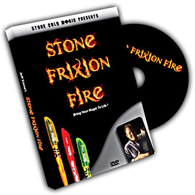 Stone Frixion Fire by Jeff Stone - DVD