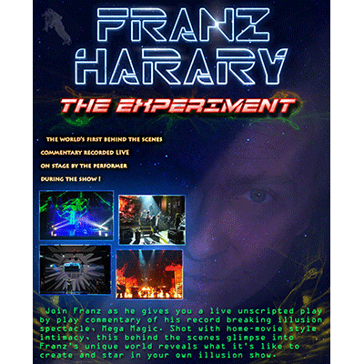 The Experiment Behind the Scenes by Franz Harary - DVD