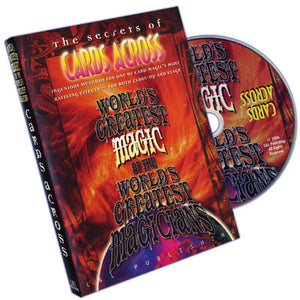 Cards Across (World's Greatest Magic) - DVD