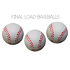 Final Load Base Balls 2.5 inch (3pk) - by Big Guy's Magic