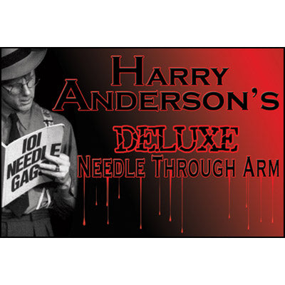 Needle Thru Arm Deluxe (BOX)(With DVD and Props) by Harry Anderson - Tricks