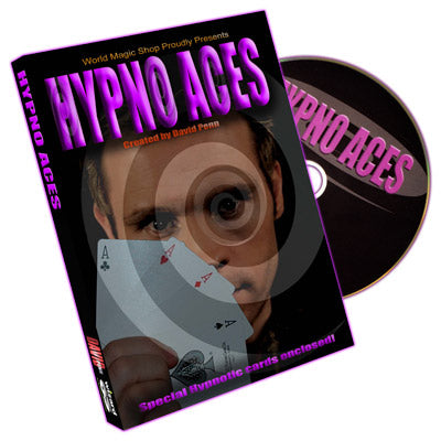 Hypno Aces (DVD and Cards) by David Penn - Trick