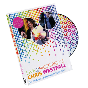 Live at McSorely's Canadian version (DVD and Gimmick) by Chris Westfall and Vanishing Inc. - DVD