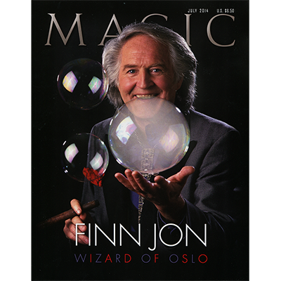 "Magic Magazine ""Finn Jon"" July 2014 - Book"