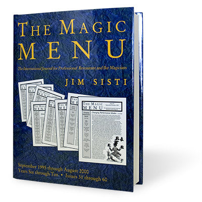 Magic Menu book Years 6-10