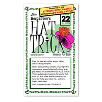 Jim Bergstrom's Hat Trick #22 by Ron Bauer - Book