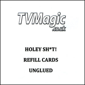 Refill Cards Holey Sh*t (NONGLUED) by Anthony Owen and Pete Firman - Trick