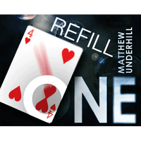 Refill for One (BLUE) by Matthew Underhill and World Magic Shop - Tricks