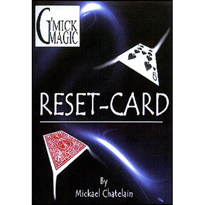 Reset Card (RED) by Mickael Chatelain - Trick