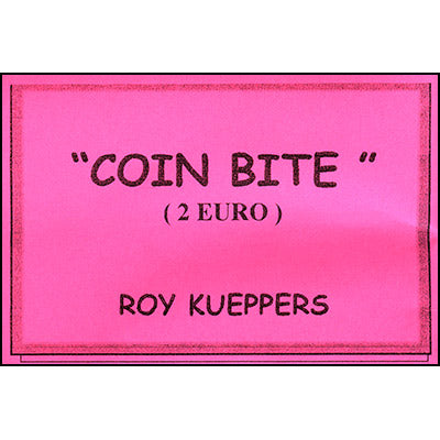 Coin Bite 2 Euro by Roy Kueppers - Trick