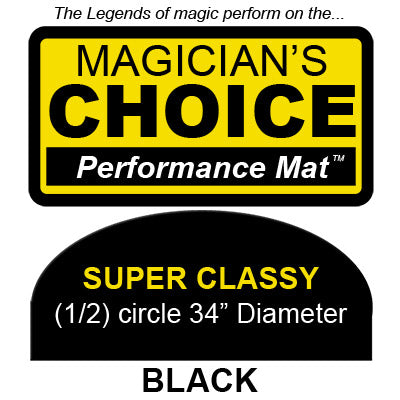 Super Classy Close-Up Mat (BLACK, 34 inch) by Ronjo - Trick