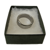 Wizard PK Ring Original (FLAT, SILVER, 16mm) by World Magic Shop - Trick