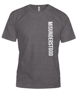 Misunderstood Unisex T-Shirt - VERTICAL