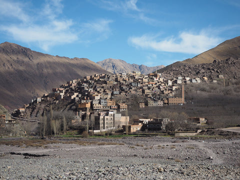 Mountain village Imlil