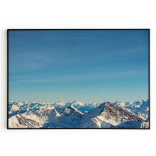 Load image into Gallery viewer, Frame Alps Mountain Poster Wall Art Print Decor Home Office