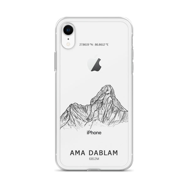 Ama Dablam iPhone Case