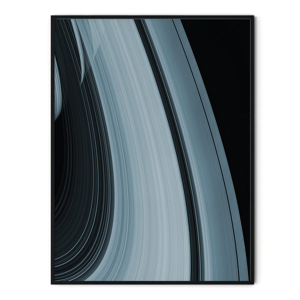 Saturn Icy Ring Poster