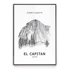 Load image into Gallery viewer, El Capitan Poster Wall Art