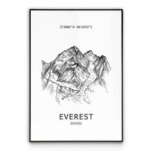 Load image into Gallery viewer, Everest Seven Summits Poster