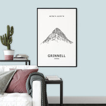 Load image into Gallery viewer, Mount Grinnell Poster Wall Art