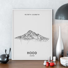 Load image into Gallery viewer, Mount Hood Poster Wall Art
