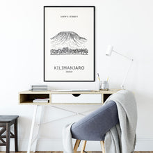Load image into Gallery viewer, Kilimanjaro Seven Summits Poster