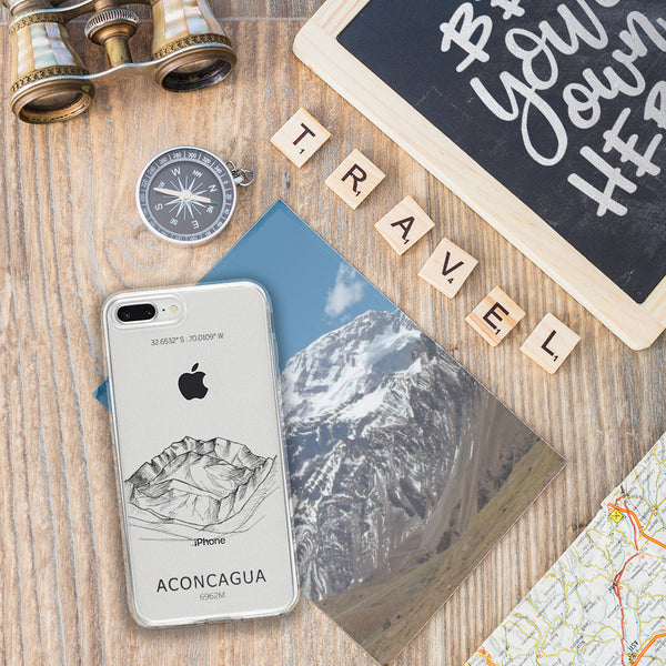Aconcagua  Mountain iPhone Case