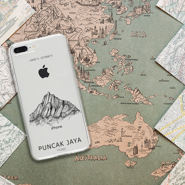 Puncak Jaya iPhone Case
