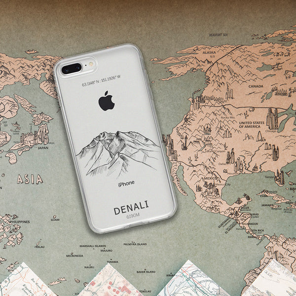 Denali Mountain  iPhone Case