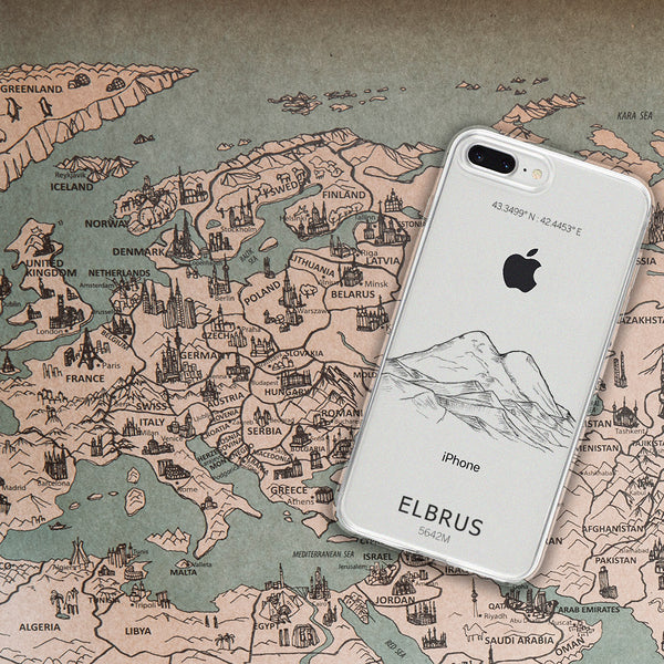 Elbrus iPhone Mountain Case