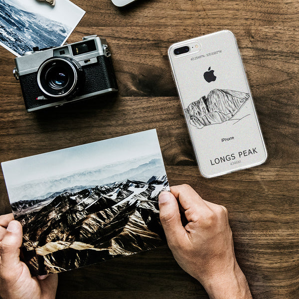 Longs Peak iPhone Case