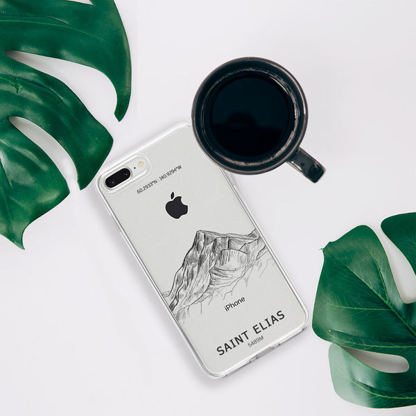 Mount Saint Elias iPhone Case