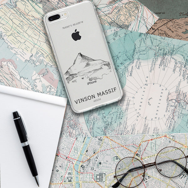 Vinson Massif iPhone Case