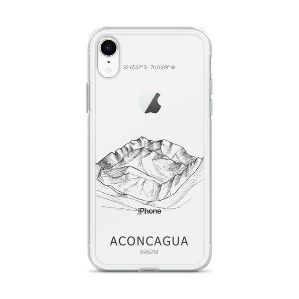 Aconcagua Seven Summits iPhone Case-phone case-Stay Boundless-iPhone XR-Stay Boundless