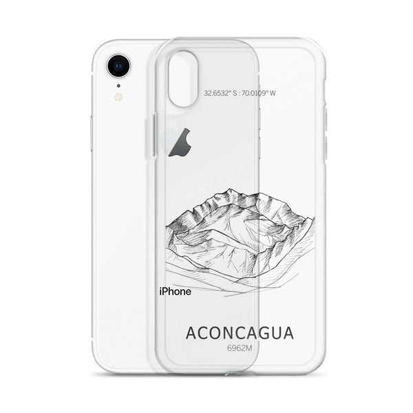 Aconcagua Seven Summits iPhone Case-phone case-Stay Boundless-iPhone 6 Plus/6s Plus-Stay Boundless