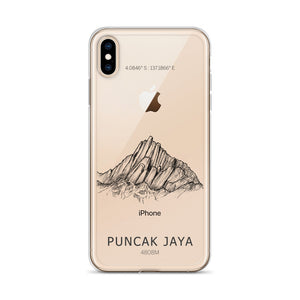 Puncak Jaya iPhone Case-phone case-Stay Boundless-iPhone XS Max-Stay Boundless