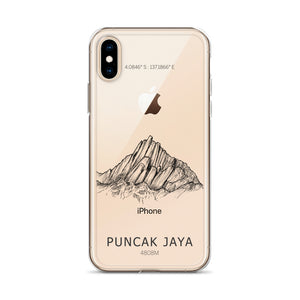 Puncak Jaya iPhone Case-phone case-Stay Boundless-iPhone X/XS-Stay Boundless