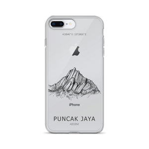 Puncak Jaya iPhone Case-phone case-Stay Boundless-iPhone 7 Plus/8 Plus-Stay Boundless