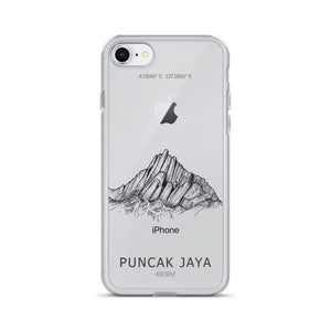 Puncak Jaya iPhone Case-phone case-Stay Boundless-iPhone 7/8-Stay Boundless