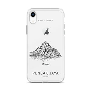 Puncak Jaya iPhone Case-phone case-Stay Boundless-iPhone XR-Stay Boundless