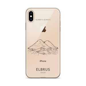 Elbrus iPhone Case-Stay Boundless-iPhone XS Max-Stay Boundless