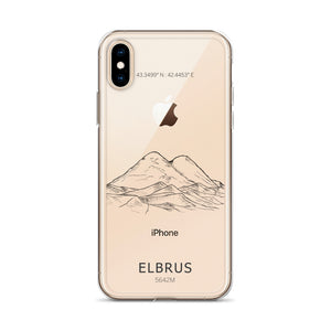 Elbrus iPhone Case-Stay Boundless-iPhone X/XS-Stay Boundless