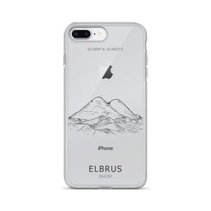 Elbrus iPhone Case-Stay Boundless-iPhone 7 Plus/8 Plus-Stay Boundless