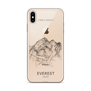 Everest iPhone Case-phone case-Stay Boundless-iPhone XS Max-Stay Boundless
