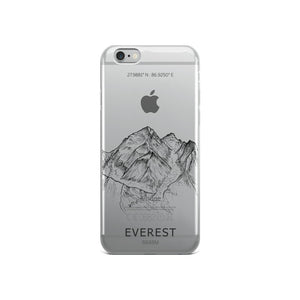 Everest iPhone Case-phone case-Stay Boundless-iPhone 6/6s-Stay Boundless